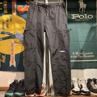 """【ラス1】RUGGED """"rugged®︎"""" nylon pants (Black)"""