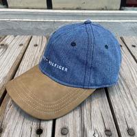 【ラス1】TOMMY HILFIGER leatheradjuster cap (Denim)