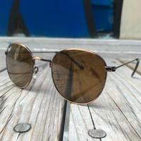 """【残り僅か】RUGGED """"Teardrop"""" sun-glasses (Brown)"""
