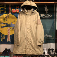 "RUGGED ""rugged®︎"" long nylon coat (Beige)"