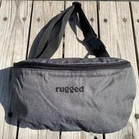 """【ラス1】RUGGED """"rugged®️"""" body bag (Gray)"""