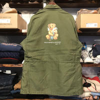 "RUGGED on Vintage ""POLO SMOKE"" Field jacket (XL)①"