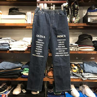 "RUGGED on vintage ""SAT/IND"" easy denim (L)"