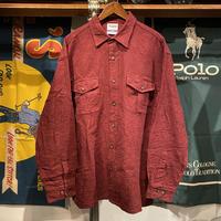 RUGGED on Vintage thick pocket shirt (L)
