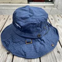 """rugged®︎"" logo string bucket hat (Blue)"