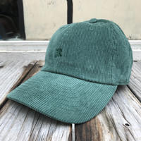 "RUGGED ""OLD R"" corduroy adjuster cap (Green)"