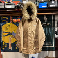 "【web限定】RUGGED ""ARCH LOGO"" N-3B fur jacket (Beige)"