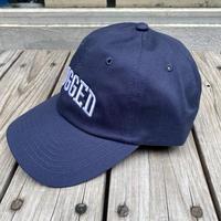 RUGGED ''ARCH LOGO'' adjuster cap (Navy×White)