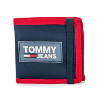 【ラス1】TOMMY JEANS URBAN MINI coin pocket wallet (Navy)
