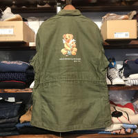 "RUGGED on vintage ""POLO SMOKE"" M-65 jacket (XL)②"