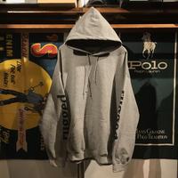 """【残り僅か】RUGGED """"rugged®︎"""" sleeve logo hoodie (Gray)"""