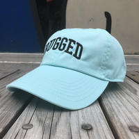 【ラス1】RUGGED ''ARCH LOGO'' adjuster cap (Turquoise)