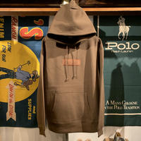 "【ラス1】AnotA ""FOX "" sweat hoodie (Brown/10.0oz)"