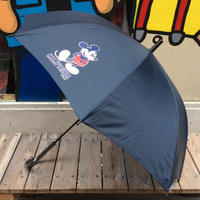 "【ラス1】SECOND LAB ""MICKEY CA""Umbrella(Navy)"