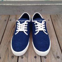 【ラス1】RUGGED ''FUCK des BABYLON tokyo'' wingtip denim stash shoes