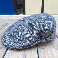 【ラス1】KANGOL Wool Herringbone 504 (Dark Blue)