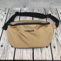 """【ラス1】RUGGED """"rugged®️"""" waist pouch (Brown)"""