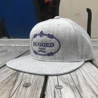 【残り僅か】RUGGED ''RUGGED TOKYO'' snapback (Gray)