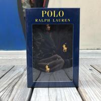 【残り僅か】POLO RALPH LAUREN  small pony dot woven boxer pants(Black)
