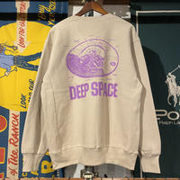 "RUGGED ""DEEP SPACE"" reverse weave  sweat  (Sand Beige/12.0oz)"