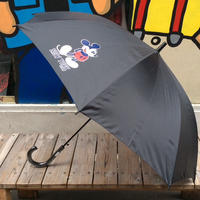 "【ラス1】SECOND LAB ""MICKEY NY""Umbrella(Black)"