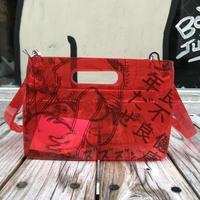 AKIRA Art of Wall x nana-nana A5 Clear Bag (Red)