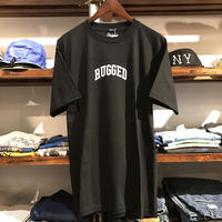 "【ラス1】RUGGED ""SMALL ARCH"" tee (Black)"