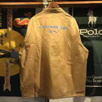 """【残り僅か】RUGGED """"FUCK des BABYLON TOKYO"""" coach jacket (beige)"""
