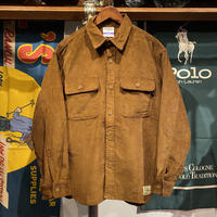 【ラス1】RUGGED tag corduroy jacket (Brown)