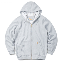 【ラス1】Carhartt full-zip hoodie(Heather Gray)