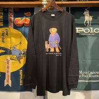 "【WEB限定/ラス1】RUGGED ""POLO SAIGOU"" L/S tee (Black)"