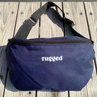 """【残り僅か】RUGGED """"rugged®️"""" body bag (Navy)"""