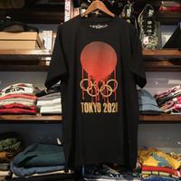 """【ラス1】visualreports """"TOKYO 2020""""  tee (Black/Poster付)"""