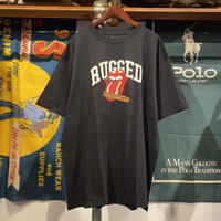 "【ラス1】RUGGED ""ROLLIN"" tee (Black)"