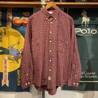 RUGGED on vintage check shirt (S)