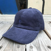 "【残り僅か】RUGGED ""OLD R"" corduroy adjuster cap (Navy)"