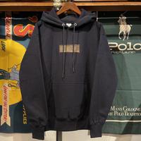 "RUGGED別注 AnotA""LOX"" reverse weave sweat hoodie (Navy/12.0oz)"