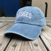 【残り僅か】RUGGED ''ARCH LOGO'' adjuster cap (Light Denim)