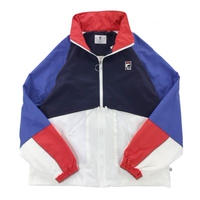 【残り僅か】FILA Full-zip mesh pocket wind jacket (Yellow)