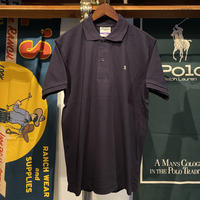 "RUGGED ""old R"" polo-shirt (Navy)"