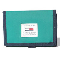 【WEB限定/ラス1】TOMMY JEANS ORIGINAL tech trifold wallet (Turquoise)
