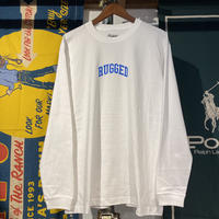 """RUGGED """"SMALL ARCH"""" L/S tee (White)"""