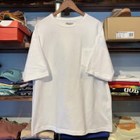 "【ラス1】RUGGED ""Neptune"" pocket tee (White)"
