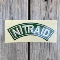 """NITRAID """"ARCH LOGO"""" sticker (Green)"""