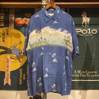 pierre cardin summer vacation shirt (L)