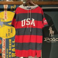 "POLO SPORT ""USA"" S/S hoody (S)"