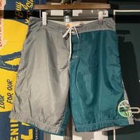 seafood bi-color nylon short pants (L)