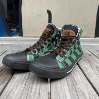 """nobrand """"悪鬼滅殺"""" hi-cut sneaer (28cm)"""