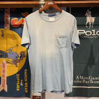POLO RALPH LAUREN pocket tee (M)