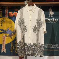pierre cardin palm tree shirt (S)